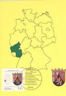 BRD 1664 Maximumkarte - Cartes-Maximum (CM)