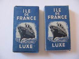 LAMES DE RASOIR - ILE DE FRANCE - 2 BOITES DE 5 - Razor Blades