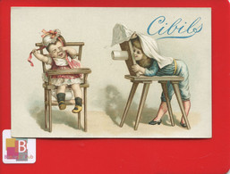 CIBILS Jolie Chromo Photo Photographie Appareil Photo Photographe Enfants Pot Chambre Vase Nuit Jeu Chaise Drap Objectif - Andere