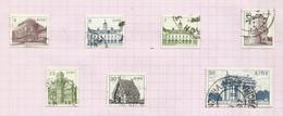 Irlande N°495 à 501 Cote 4.50 Euros - Usati