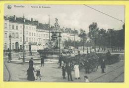 * Brussel - Bruxelles - Brussels * (Ed Nels, Série 1, Nr 56) Fontaine De Brouckère, Animée, Fontein, Statue, Cheval - Brussels (City)