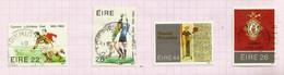Irlande N°548 à 551 Cote 4.90 Euros - Usati