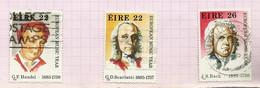 Irlande N°568 à 570 Cote 5 Euros - Usati