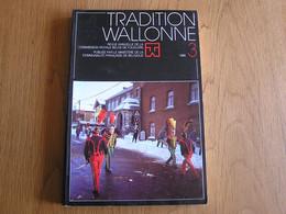 TRADITION WALLONNE 3 Régionalisme Folklore Carnaval Cerfontaine Stavelot Genappe Bruxelles Remèdes Croyances Populaires - Belgium
