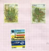 Irlande N°589, 590, 592 Cote 4.25 Euros - Usati
