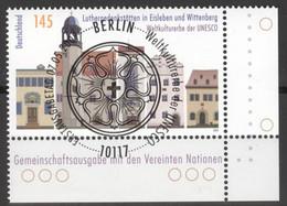 BRD 2736 Eckrand Unten Rechts O Sonderstempel Berlin - Gebraucht
