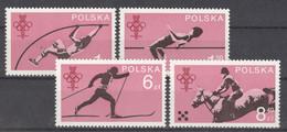 Polen 2612/15 ** Postfrisch Olympisches Komitee - Unused Stamps