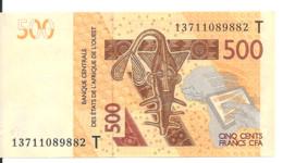 TOGO 500 FRANCS 2012 UNC P 819T - Togo