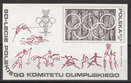 Polen Block 74 ** Postfrisch Olympisches Komitee - Blocks & Sheetlets & Panes