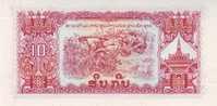 LAOS P. 20a 10 K 1968 UNC - Laos