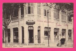 CPA (Réf: Z 3778) (ASIE VIETNAM) (INDOCHINE) SAÏGON Rue Catinat, Maison Mottet Et Cie - Vietnam