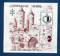 ⭐ France - Bloc Souvenir CNEP - YT N° 9 ** - Neuf Sans Charnière - 1988 ⭐ - CNEP