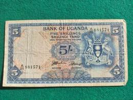 Uganda 5 Schillins 1966 - Uganda