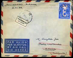 België - 1065 Op Brief Naar Ankara, Turkije - Covers & Documents