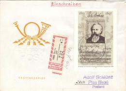 DDR Block 69 Auf R-FDC - FDC: Briefe