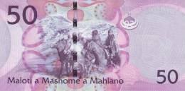 LESOTHO P. 23a 50 M 2010 UNC - Lesotho