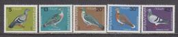 Bulgaria 1984 - Pigeons, Mi-Nr. 3273/77, MNH** - Nuevos