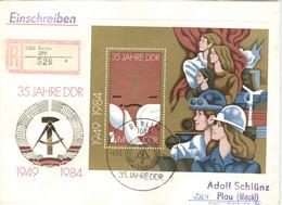 DDR Block 79 Auf R-FDC - FDC: Briefe