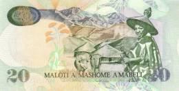 LESOTHO P. 16d 20 M 2005 UNC - Lesotho
