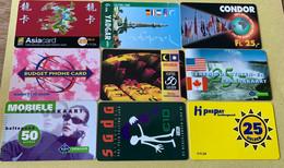 Lot Prepaid Kaarten, Allemaal Verschillende - Collections