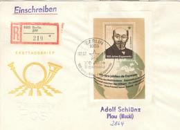 DDR Block 87 Auf R-FDC - FDC: Briefe