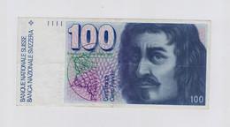 [NC] SVIZZERA / SUISSE / SWITZERLAND - NATIONAL BANK - 100 FRANCS / FRANKEN ( BORROMINI ) - Svizzera