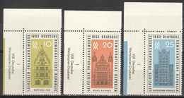 DDR 947/49 Eckrand Mit Druckvermerk ** Postfrisch - Unused Stamps