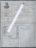 Invoice From Royal Companhia Horticolo-Agricola Portuense, Porto In 1906. Real Companhia Horticolo-Agricola Portuense - Portogallo