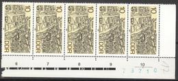 DDR 5x3162 Eckrand Mit Bogennummer ** Postfrisch - Unused Stamps