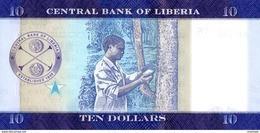 LIBERIA P. 32a 10 D 2016 UNC - Liberia