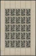 N° 584 Feuille Complète De 25 Ex. COTE 15€ Neuf ** (MNH) TB - Ganze Bögen