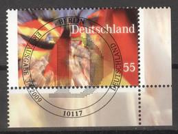 BRD 2760 Eckrand Unten Rechts O Sonderstempel Berlin - Gebraucht