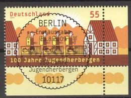 BRD 2753 Eckrand Unten Rechts O Sonderstempel Berlin - Gebraucht
