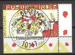 BRD 2756 Eckrand Unten Rechts O Sonderstempel Berlin - Gebraucht