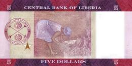 LIBERIA P. 31a 5 D 2016 UNC - Liberia