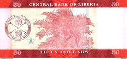LIBERIA P. 34a 50 D 2016 UNC - Liberia