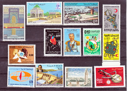Maroc, Morocco 1971 Année  Poste 612/624 617A Au Lieu Des 616/617  Sauf 625/626 Neuf ** TB MNH - Maroc (1956-...)