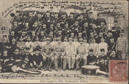 CPA CP Crète Stato Maggiore Della Gendarmeria Cretese YT Mouchon Crète 10c N°6 CAD La Canée Edit Cavaliero - Greece