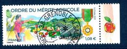 France 2021.Ordre Du Mérite Agricole ..Cachet Rond Gomme D'origine - Used Stamps