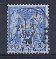 "BELLE OBLITÉRATION CAD "" LILLE / SECTION DE FIVES "" De 1876 Sur SAGE TYPE 1 N° 68 - 1876-1878 Sage (Type I)"