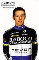 CYCLISME: CYCLISTE : BART VERSCHUEREN - Ciclismo