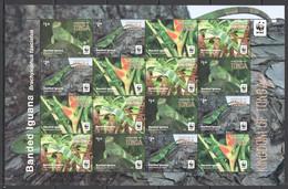 XX301 2016 TONGA WWF FAUNA REPTILES BANDED IGUANA MICHEL 52 EURO 1SH MNH - Nuevos