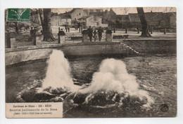 - CPA BÈZE (21) - Source Jaillissante De La Bèze 1908 - Edition BAUER MARCHET 158 - - Other Municipalities