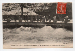 - CPA BÈZE (21) - Source Jaillissante De La Bèze 1910 - Edition H-B - - Other Municipalities