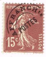 France Préoblitéré, N° 53 - 1893-1947