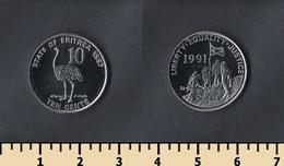 Eritrea 10 Cents 1997 - Eritrea