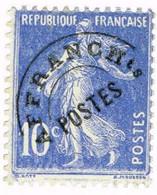 France Préoblitéré, N° 52 - 1893-1947