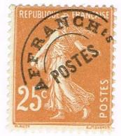 France Préoblitéré, N° 57 - 1893-1947