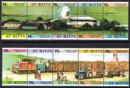 St Kitts 1987 Sugar Cane Unmounted Mint. - St.Kitts En Nevis ( 1983-...)
