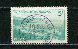 MONACO: VUE - N° Yvert 310A  Obli. Ronde - Oblitérés